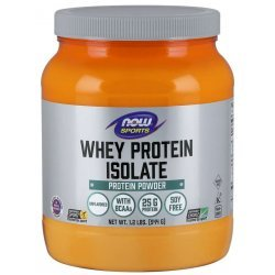NOW Whey Protein Isolate 544 гр