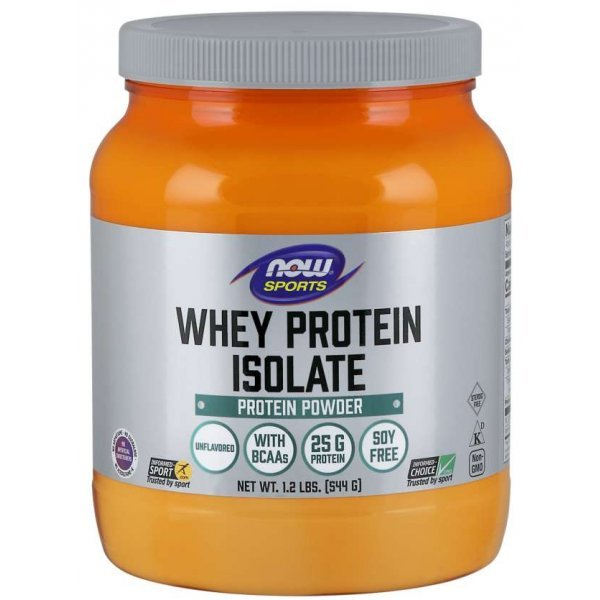 NOW Whey Protein Isolate 544 грNOW2172