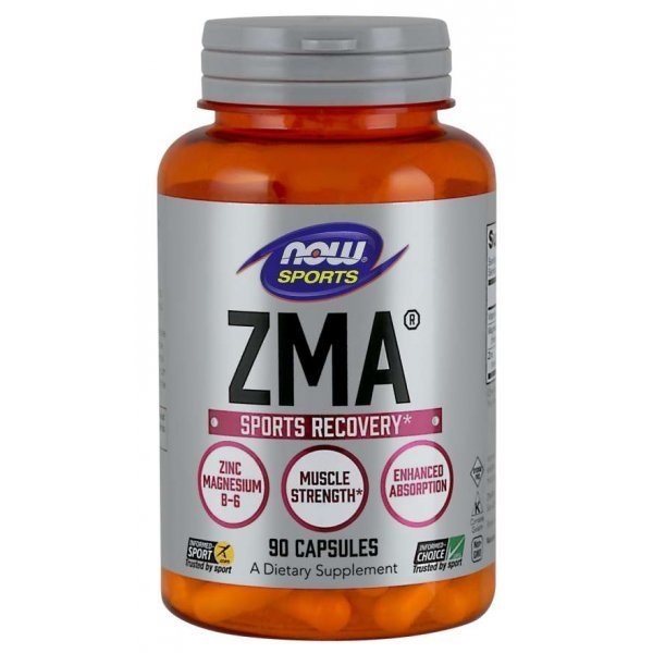 NOW ZMA 800 мг 90 капсулиNOW2200