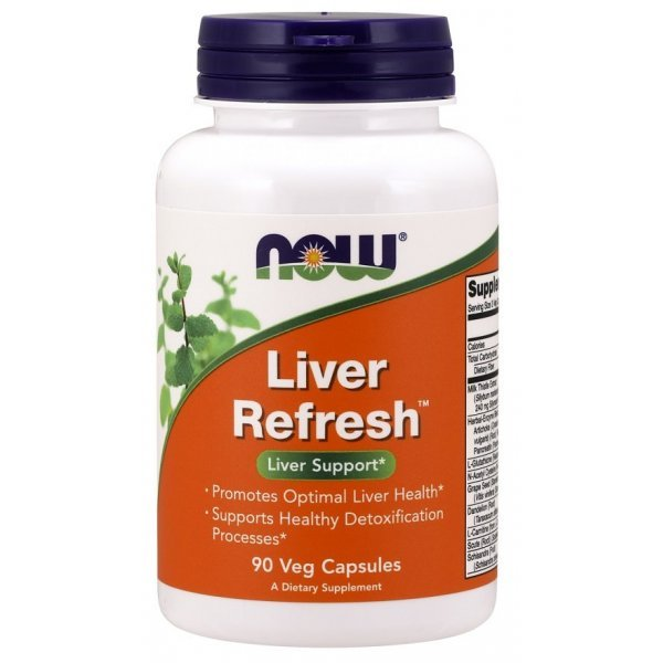 NOW Liver Refresh 90 капсулиNOW2448