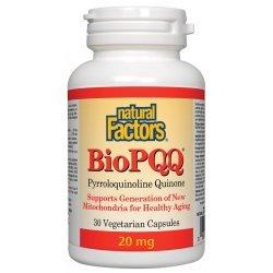 Natural Factors BioPQQ 20 мг 30 капсули