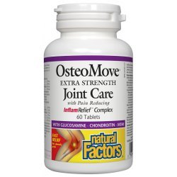 Natural Factors OsteoMove 1431 мг 60 таблетки