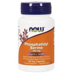 NOW Phosphatidyl Serine 30 капсули