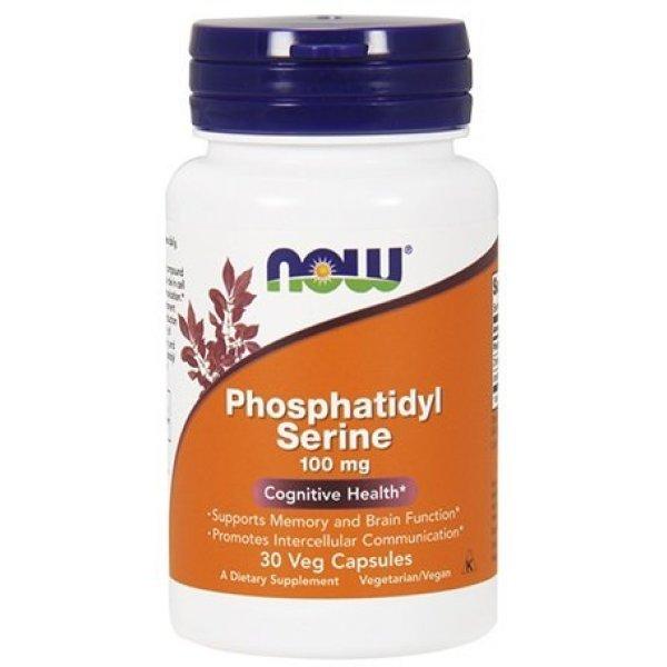NOW Phosphatidyl Serine 30 капсулиNOW2379