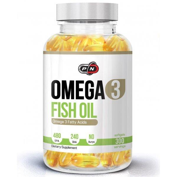 Pure Omega 3 Fish Oil 300 дражетаPN1758
