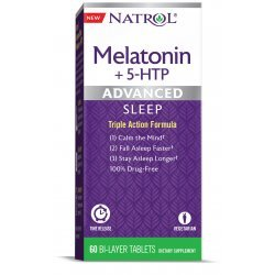 Natrol Advanced Sleep Melatonin + 5-HTP 60 таблетки