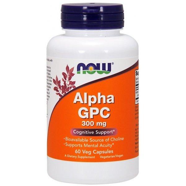 NOW Alpha GPC  60 капсулиNOW3085