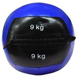 Медицинска топка - Wall ball, 9 кг, Ф36 см