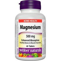 Webber Naturals Magnesium 500 мг 60 таблетки