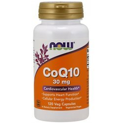 NOW COQ10 30 mg 120 капсули