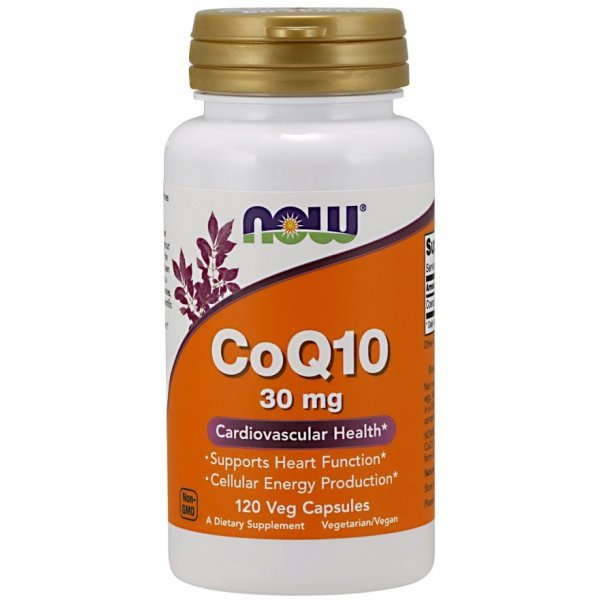 NOW COQ10 30 mg 120 капсулиNOW3188