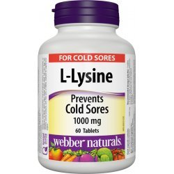 Webber Naturals L-Lysine 1000 мг
