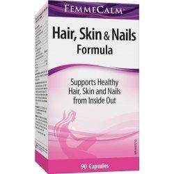 Webber Naturals FemmeCalm™ Hair, Skin & Nails Formula 90 капсули