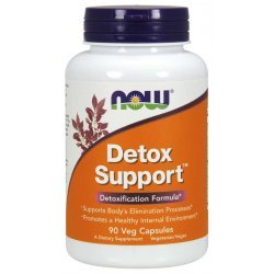 NOW Detox Support 90 капсули