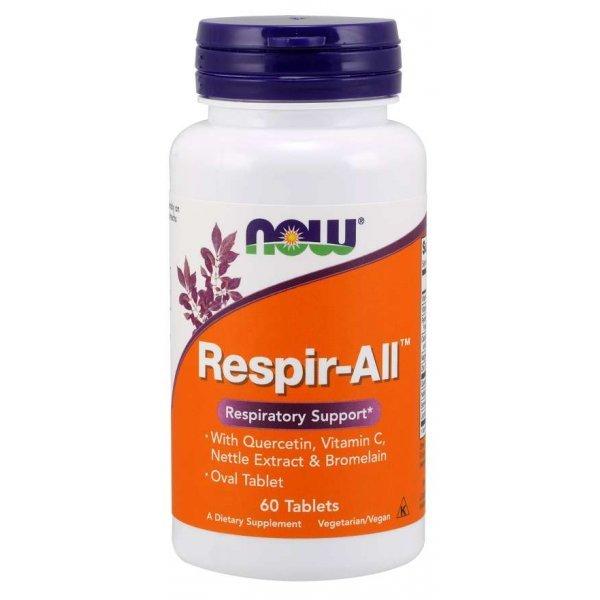 NOW Respir-All Allergy 60 таблеткиNOW0012