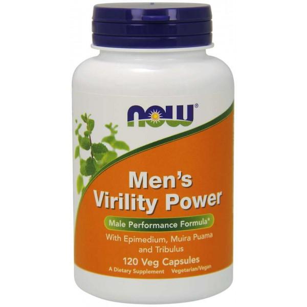NOW Men's Virility Power 120 капсулиNOW3329