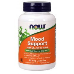 NOW Mood Support with St. John`s Wort 90 капсули