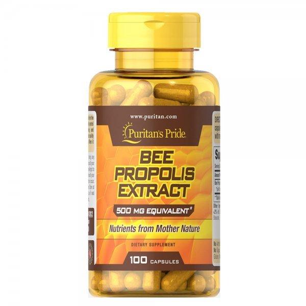 Puritan's Pride Bee Propolis 500 мг 100 капсулиPP1117
