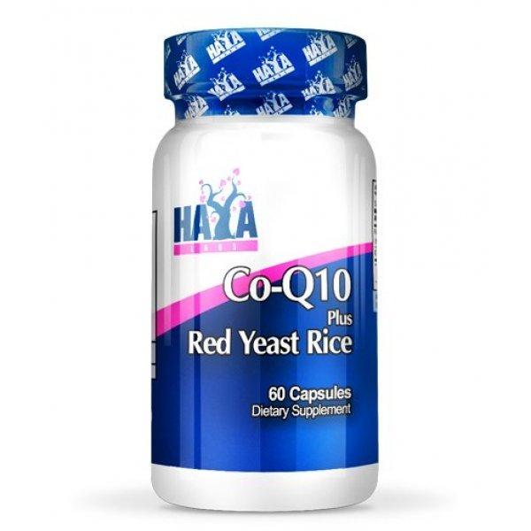 Haya CoQ10 & Red Yeast Rice 60 дражетаHL992