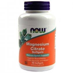 NOW Magnesium Citrate  90 дражета