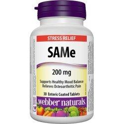 Webber Naturals SAMe 200 мг 30 таблетки