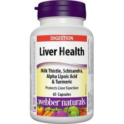 Webber Naturals Liver Health 65 капсули