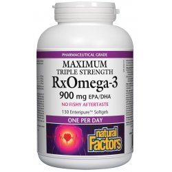 Natural Factors RX Omega-3 Maximum Strenght 1425 мг 150 капсули