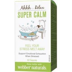 Webber Naturals Super Calm 257 мг 60 капсули