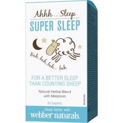 Webber Naturals Super Sleep 203 мг 30 таблетки