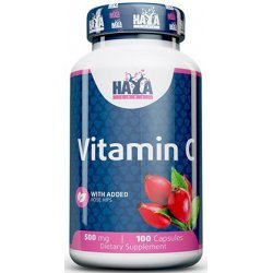 Haya Vitamin C 500 mg with Rose Hips 100 капсули