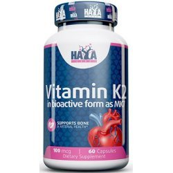Haya Vitamin K2-Mk7 100 мкг 60 капсули