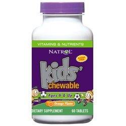Natrol Kids Multivitamins 60 дъвчащи таблетки