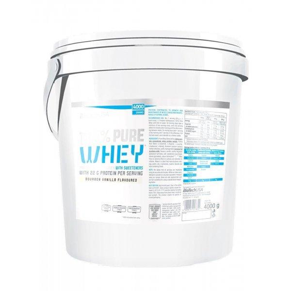 BIOTECH USA 100% Pure Whey 4000 грBT45448