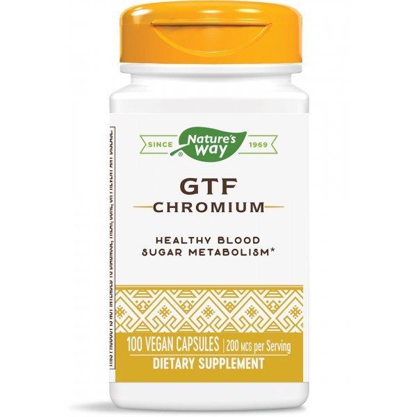 Nature's Way GTF Chromium 200 мкг 100 капсули41021