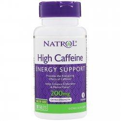 Natrol High Caffeine 200 мг 100 таблетки