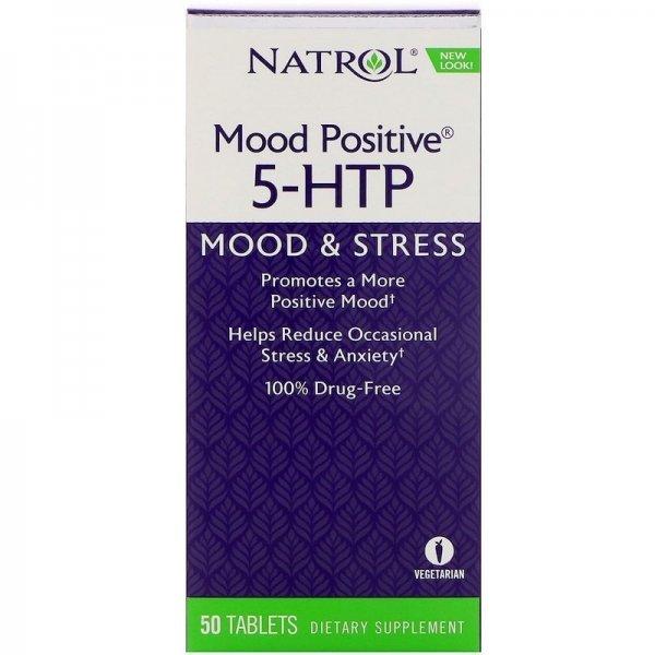 Natrol 5-HTP Mood Positive 50 капсулиNAT340