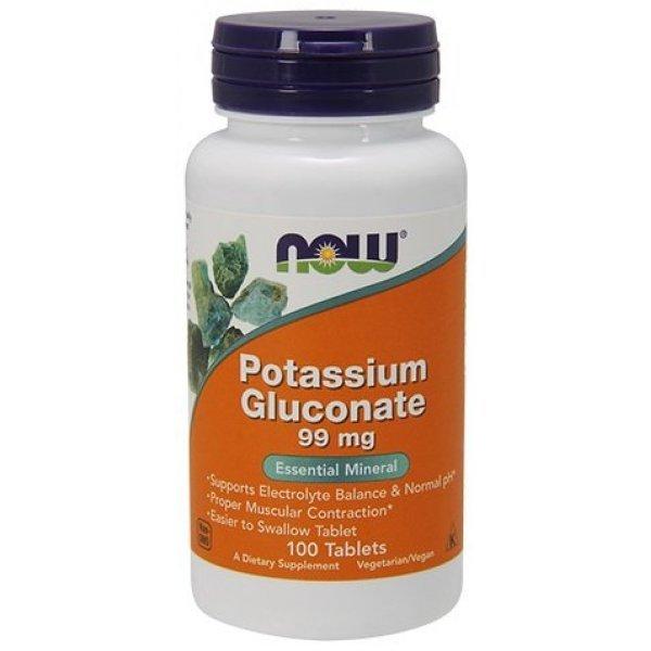 NOW Potassium Gluconate 100 таблеткиNOW1460