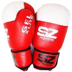 Червени боксови ръкавици GEL X LITE SZ Fighters