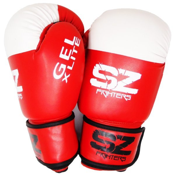 Червени боксови ръкавици GEL X LITE SZ FightersSZ002-1