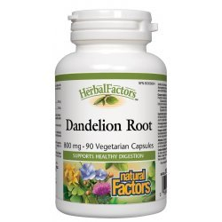 Natural Factors Dandelion Root 800 мг 90 капсули