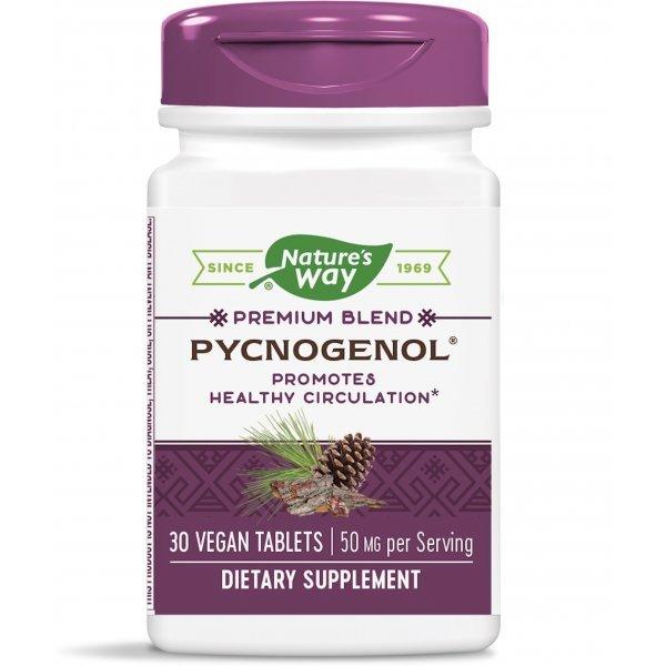 Nature`s Way Pycnogenol 50 мг 30 таблетки 45151