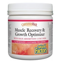 Natural Factors Muscle Recovery & Growth Optimizer 5030 мг 156 гр пудра