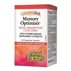 Natural Factors Memory Optimizer 388 мг 60 капсули