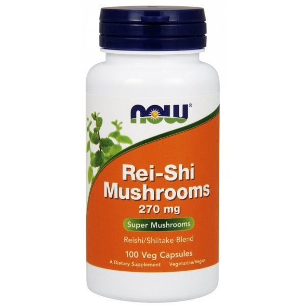 NOW Rei-Shi Mushrooms 100 капсулиNOW4733