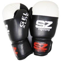 Черни боксови ръкавици GEL X LITE SZ Fighters