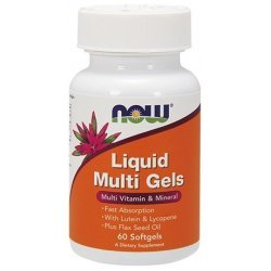 NOW Liquid Multi Gels  60 дражета