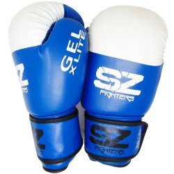 Сини боксови ръкавици GEL X LITE SZ Fighters