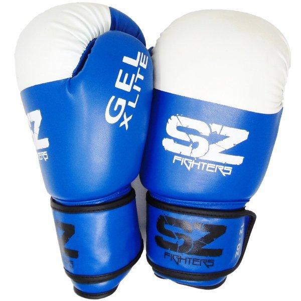 Сини боксови ръкавици GEL X LITE SZ FightersSZ003-1