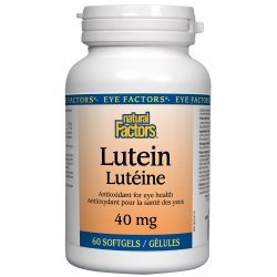Natural Factors Lutein 40 мг 60 дражета
