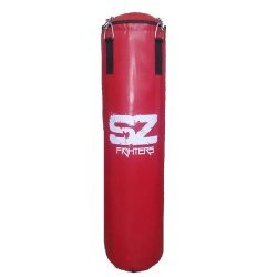 Боксов чувал червен 180 см 50 кг Profi SZ Fighters